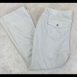 a.n.a. White Bootcut Jeans 20W great condition
